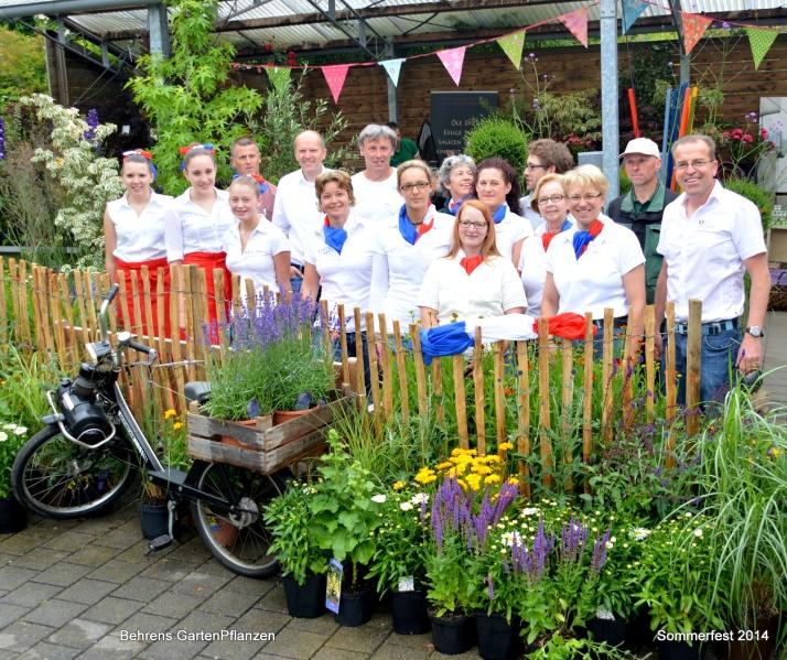 team behrens sommerfest 2014