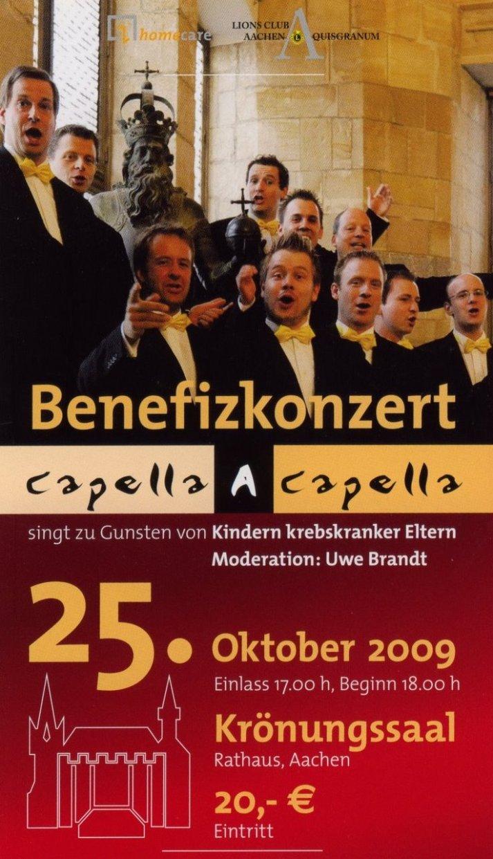 lions konzert capella a capella