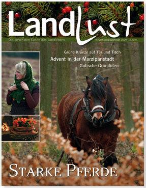 landlust november-dezember 2009
