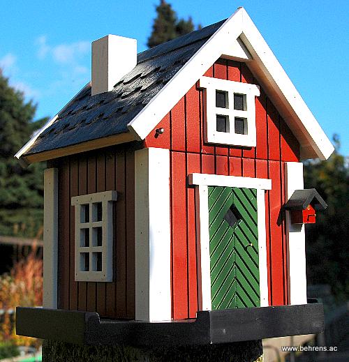 sch n und n tzlich vogelh user aus schweden behrens. Black Bedroom Furniture Sets. Home Design Ideas