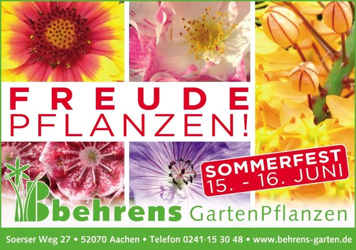 Anzeigenmotiv Behrens Juni 2013