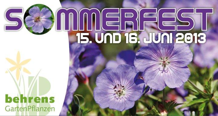 Sommerfest 2013!