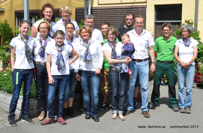team behrens sommerfest 2013