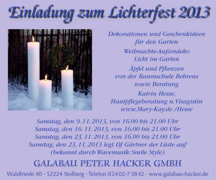 hacker lichterfest 2013